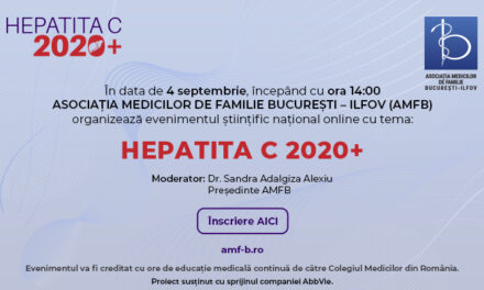 HEPATITA C 2020+, 4 septembrie 2020- Online