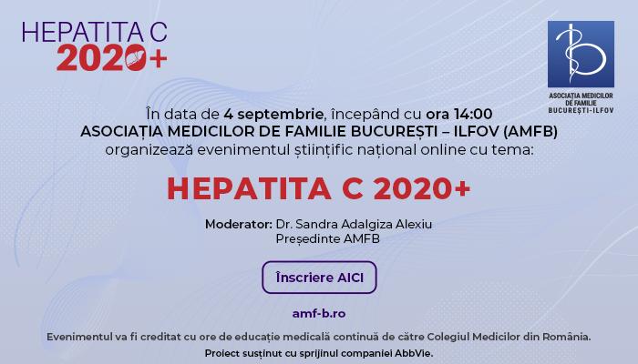 HEPATITA C 2020+, 4 septembrie 2020- Online