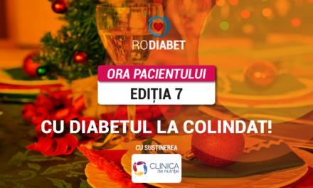 """Joi, 17 decembrie, plecăm """"Cu Diabetul la colindat"""" la cea de-a șaptea întâlnire RoDiabet Ora Pacientului"""