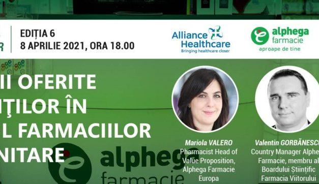 Mariola Valero, Pharmacist Head of Value Proposition, Alphega Pharmacy Europe: O interconectare a sistemului medical cu cel farmaceutic ar putea ușura procesul de tratare al pacienților