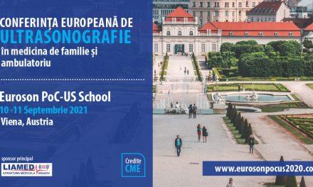 Au început înscrierile pentru Conferința Europeană de Ultrasonografie 2021– Euroson Pocus School Vienna