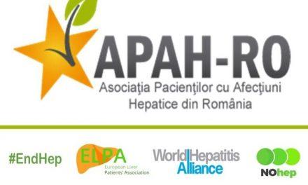 APAH marchează Ziua Mondială de luptă împotriva Hepatitelor